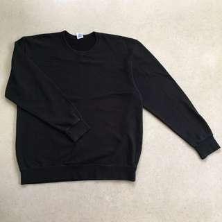 Black Oversized Sweater XL