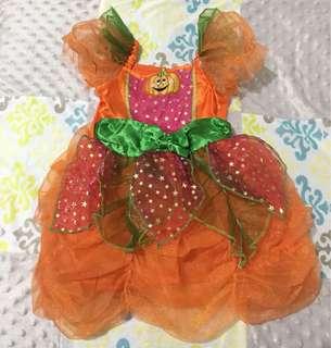 Marks & Spencer Girls Costume Orange Pumpkin