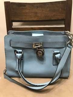 Authentic Michael Kors Hamilton Medium Saffiano Leather Bag