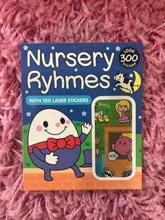 300 Mini Stickers <Nursery Rhymes>