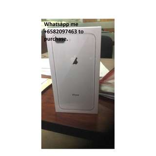 Apple iPhone 8 Plus  64 GB Silver/Gold