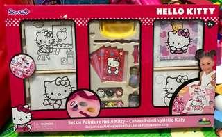 Hello kitty painting set