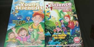Science Adventures and young scientist