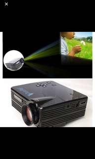 Portable Mini projector LEDVS320 projector full hd