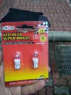 T10 bulb colour unknown