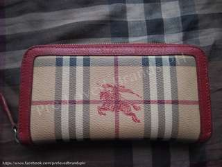 Preloved Burberry wallet