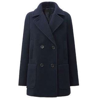 Uniqlo - Pea Coat in Navy