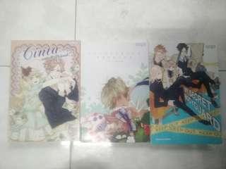 Combo 3 book karya KOURU