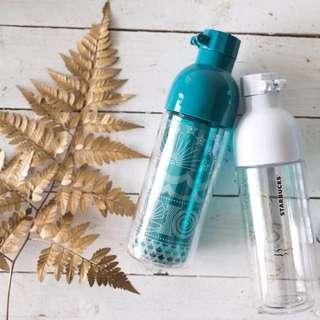 Starbucks 16oz Double Walled Sirens Water Bottle - White & Turquoise #list4sbux