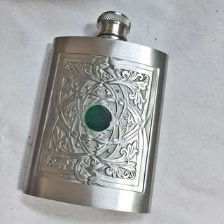 Pewter Flask BNIB