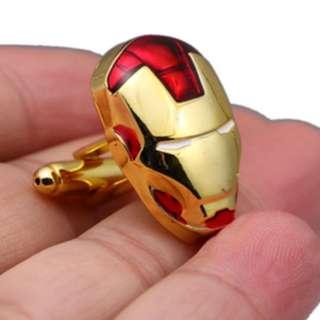 Kancing Manset Kemeja - Cufflinks - Cuff link - Ironman Infinity War