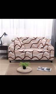 Sofa cover elastic sofa cover 1 2 3 4 seater normal and L shape sofa cover with cushion cover