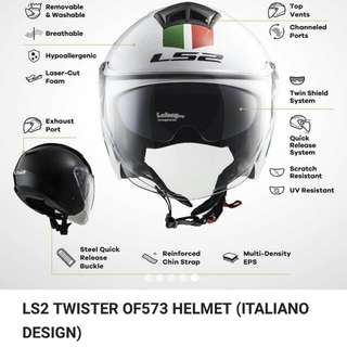 Ls2 helmet italiano design