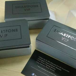 One Side Spot Uv Business Card 3box