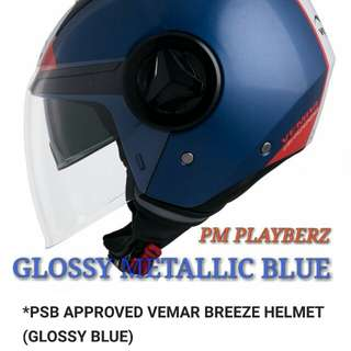 Vemar breeze metallic blue