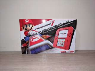 *REDUCED* 2DS Crimson Red + N98 Carrying Case OBO