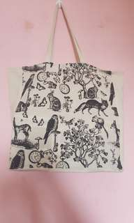*CLEARANCE* Cotton On Totebag (Woodland Creatures )