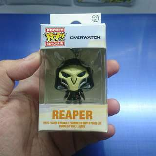 Overwatch Reaper pocket pop keychain