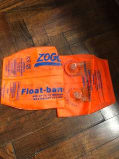 Zoggs float bands - age up to 12 mo