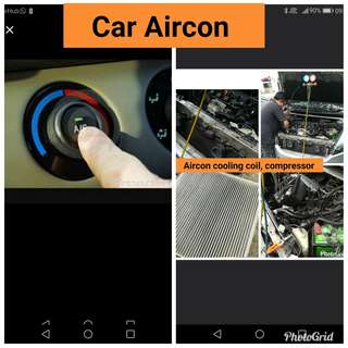 Car Aircon and engine oil full servicing
