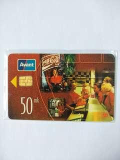 Avant Phonecard