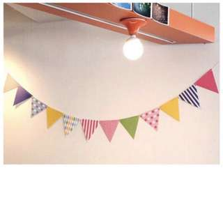 Party Flags Banner Wall Decoration Birthday Bunting