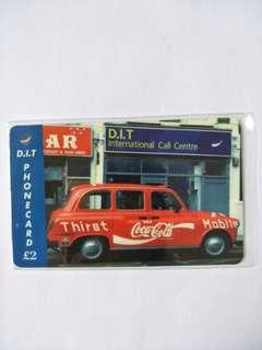 DIT phonecards
