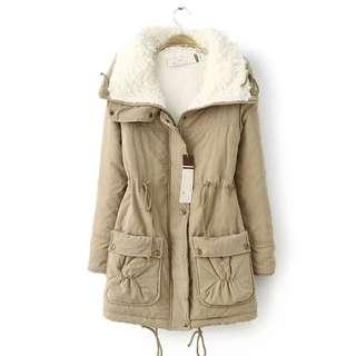Winter jacket (khaki colour)