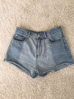Glassons denim shorts