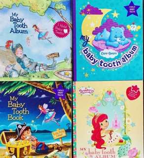 Tooth fairy album book keep tooth