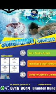 Anyone looking for swimming instructor