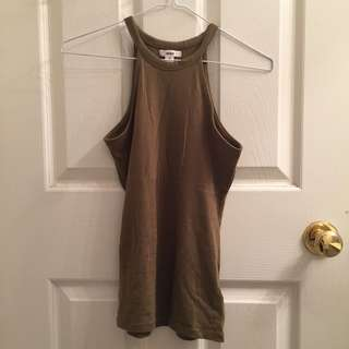 ARDENE Army green halter top/tank/clothes/clothing