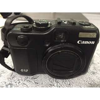 Canon PowerShot G12 10MP Digital Camera $450 (Pre-owned)