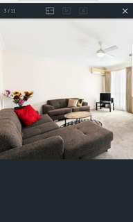 3 seater with chase and 2 seater couch for sale