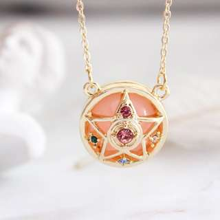 Sailor Moon Necklace and earrings series