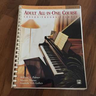 Piano Level 1 Adult All-In-One Course