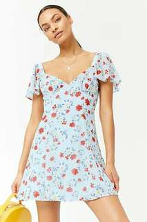 LOOKING FOR F21 Floral Fit & Flare Dress