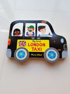 My first London taxi, by Marion billet