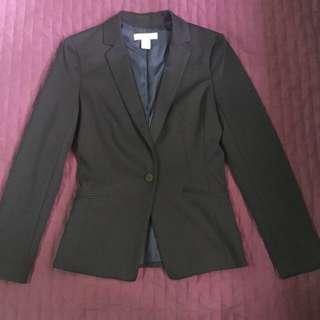 H&M Dark Blue Blazer / Coat