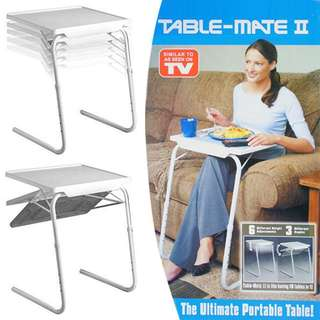 Table Mate II Foldable and Adjustable Table