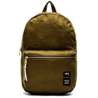 Herschel Backpack in olive green