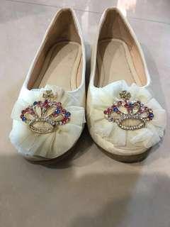 Princess shoe for girls 6-7 years