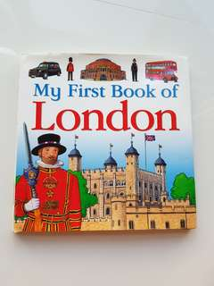 My first book of London, by Charlotte guillain