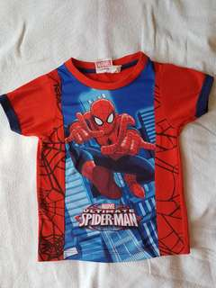 Spiderman T-Shirt Marvel 2T