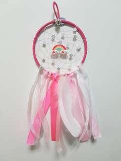 Rainbow Sparkle Dreamcatcher