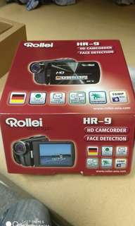 a friendly price ROLLEI HR9 HD CAMCORDER