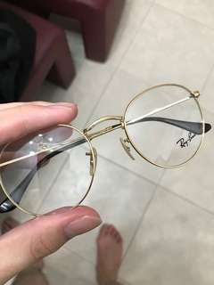 Authentic Ray Ban Gold frame Rb3447V