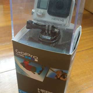 Go Pro Hero 4 Silver Edition with Accessories