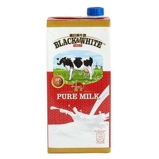 黑白牛奶 1L