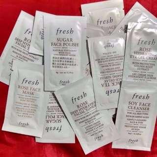 大量Fresh Samples ($4 or Above)